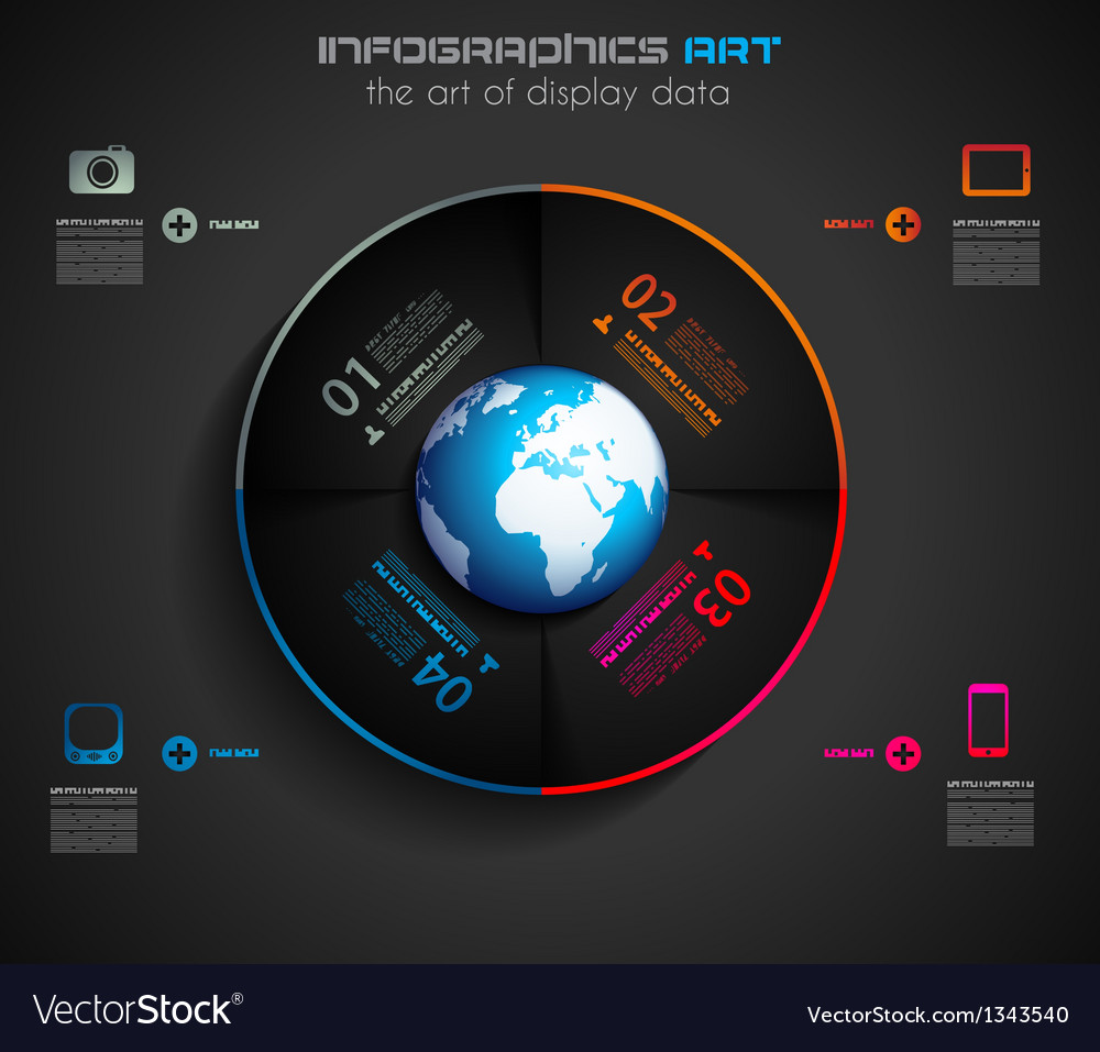 Infographic layout template vector | Price: 1 Credit (USD $1)