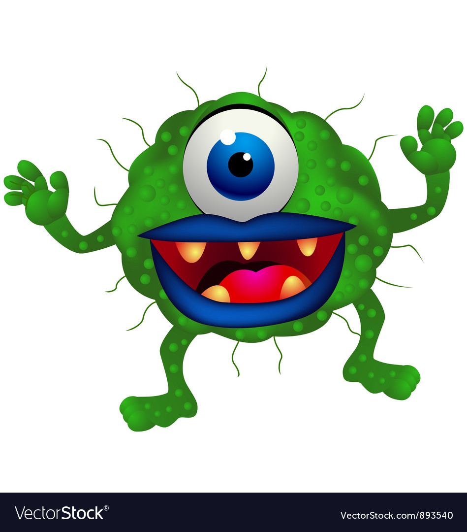 Monster cartoon vector | Price: 3 Credit (USD $3)