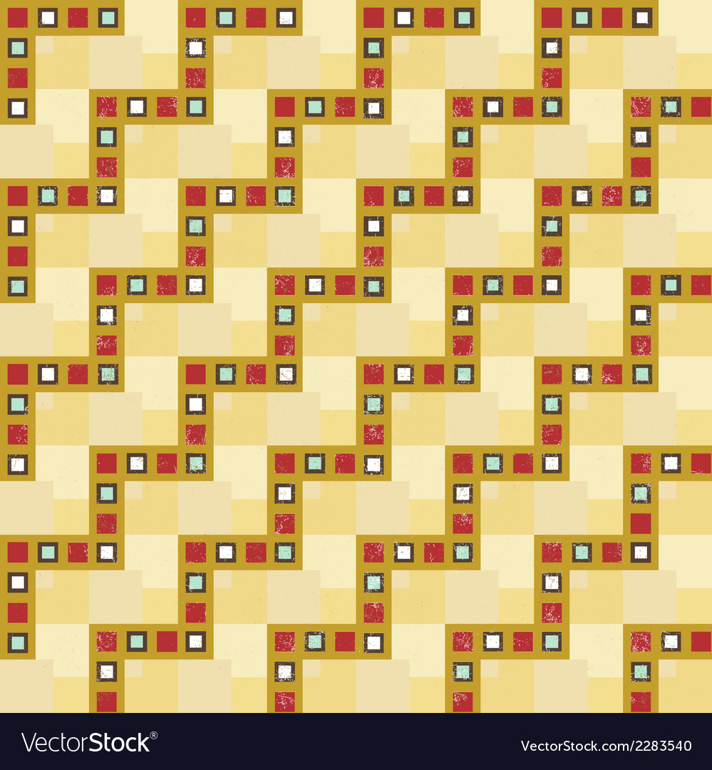 Vintage seam less pattern with grunge vector | Price: 1 Credit (USD $1)