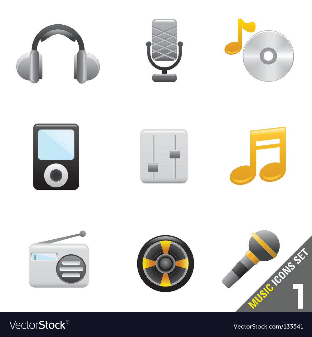Music icon vector | Price: 1 Credit (USD $1)