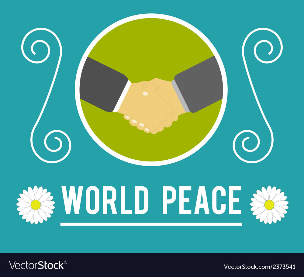 World peace concept vector | Price: 1 Credit (USD $1)