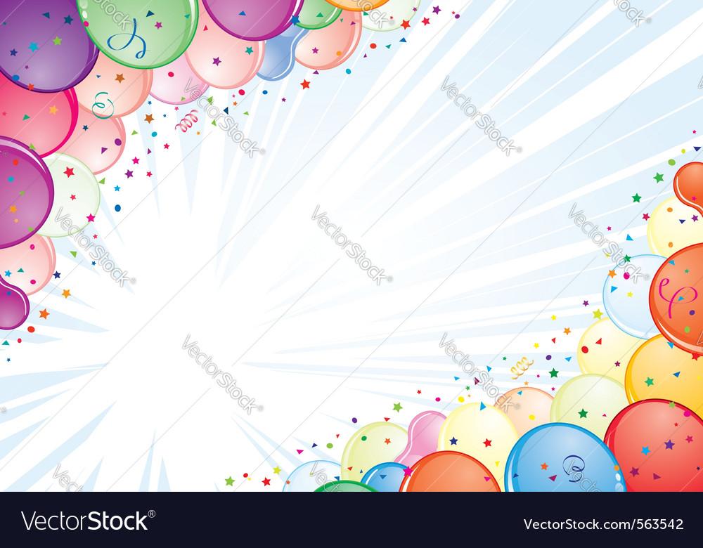 Birthday frame vector   Price: 1 Credit (USD $1)