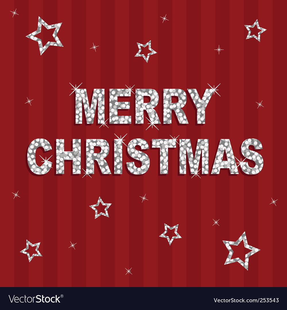 Christmas glitter background vector | Price: 1 Credit (USD $1)
