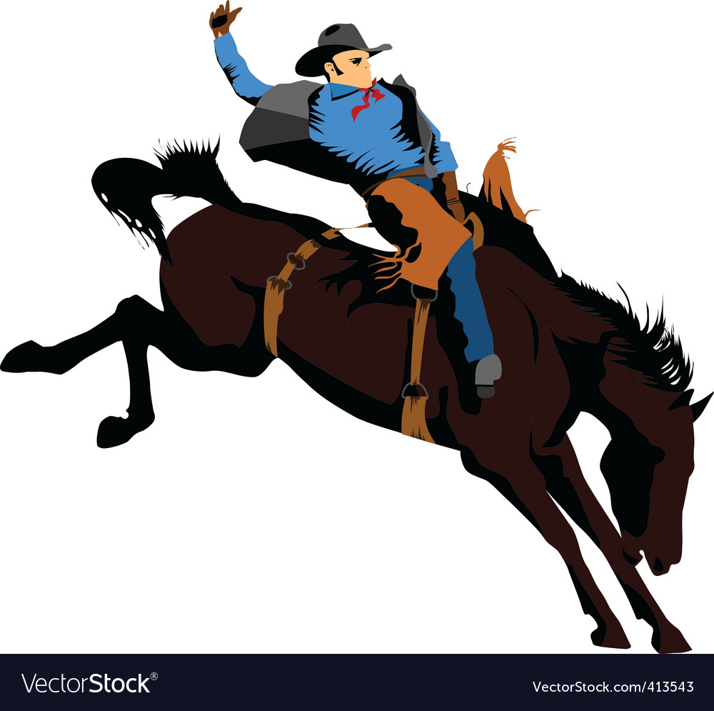 Cowboy vector | Price: 1 Credit (USD $1)