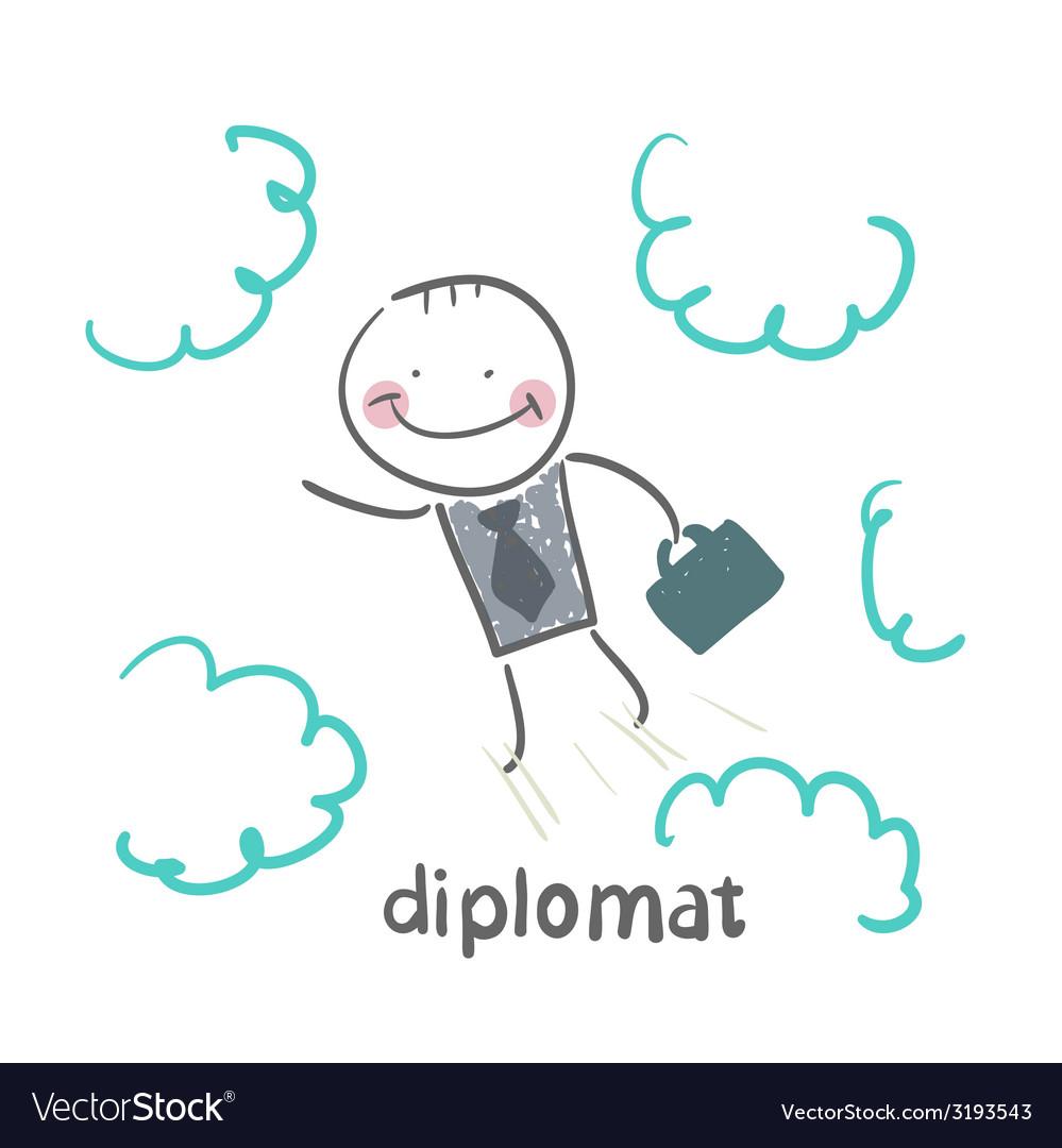 Diplomat vector | Price: 1 Credit (USD $1)