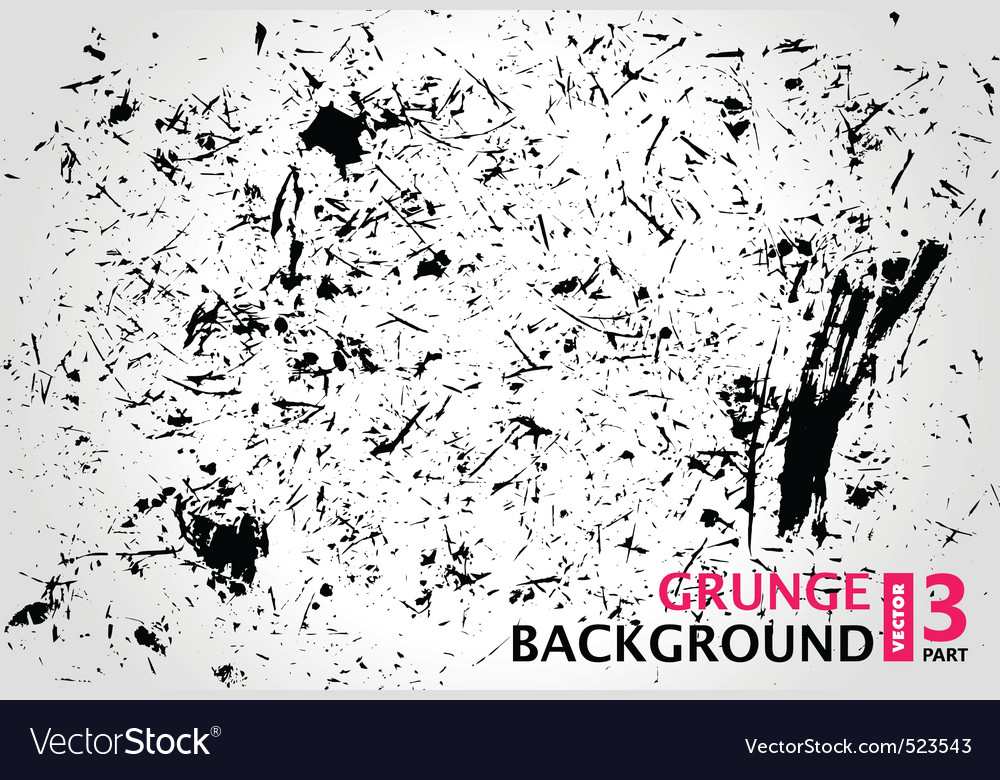 Grunge background scratches stain old vector | Price: 1 Credit (USD $1)