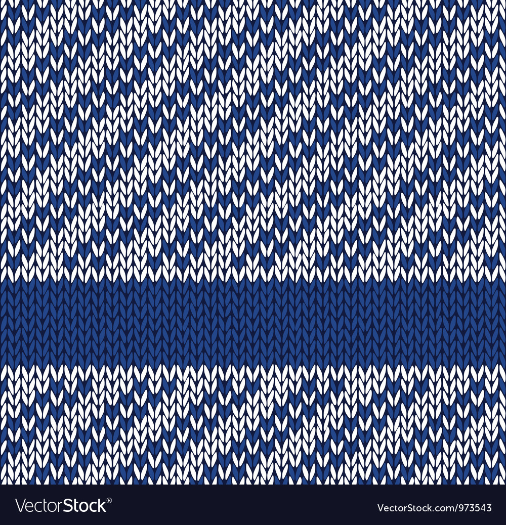 Marine knitted pattern vector   Price: 1 Credit (USD $1)