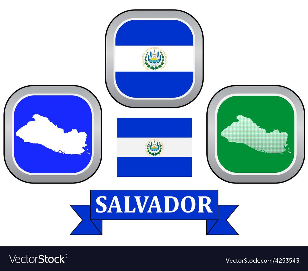 Symbol of salvador vector | Price: 1 Credit (USD $1)