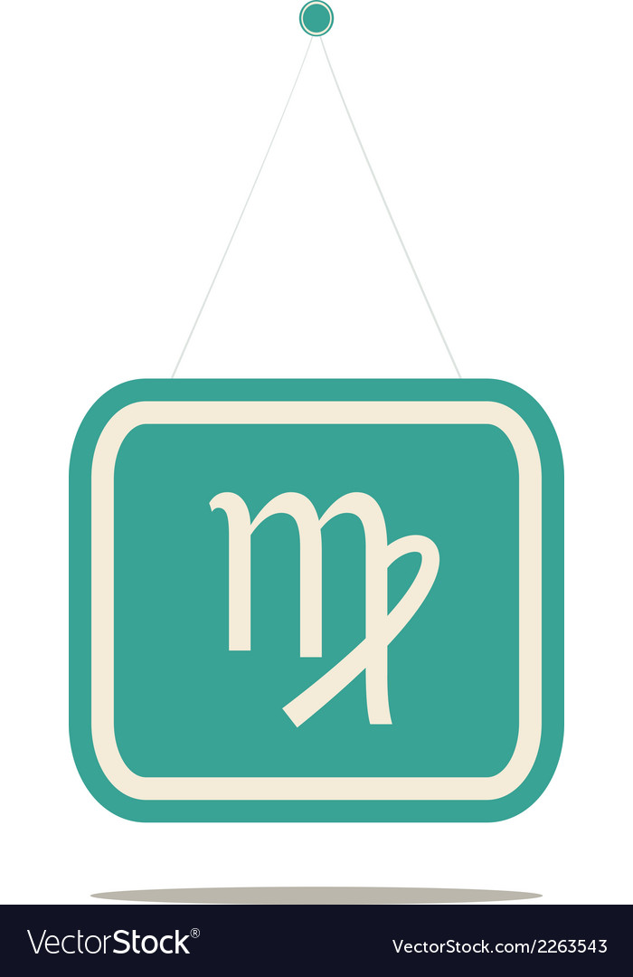 Virgo sign vector | Price: 1 Credit (USD $1)