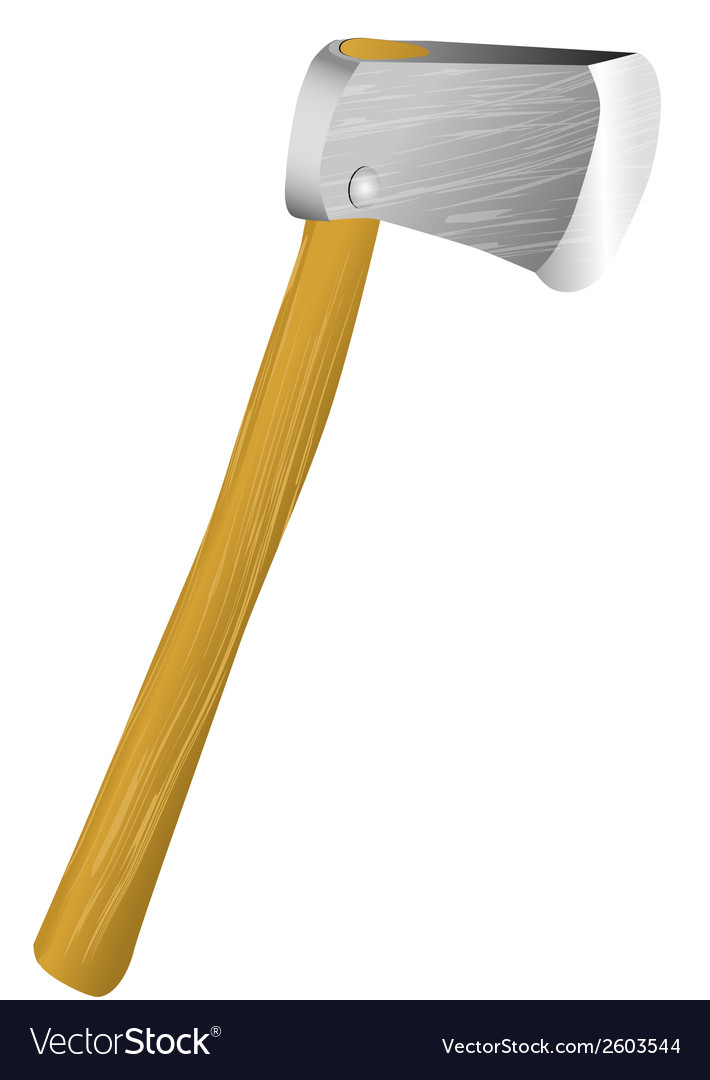 Lumber axe vector | Price: 1 Credit (USD $1)