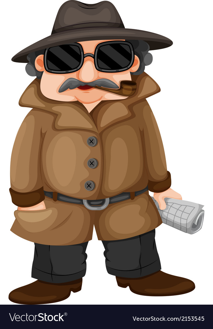 A detective vector   Price: 1 Credit (USD $1)