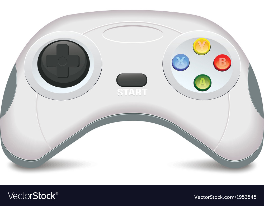 Gamepad vector | Price: 1 Credit (USD $1)