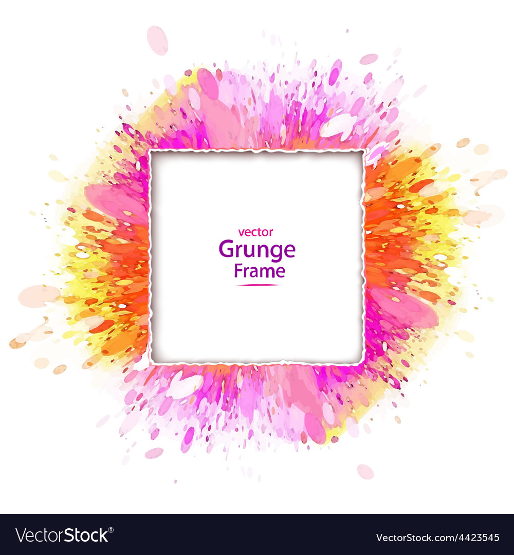 Grunge frame retro vector | Price: 1 Credit (USD $1)
