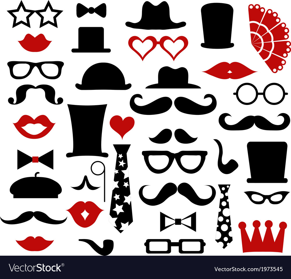 Hipster design elements vector | Price: 1 Credit (USD $1)