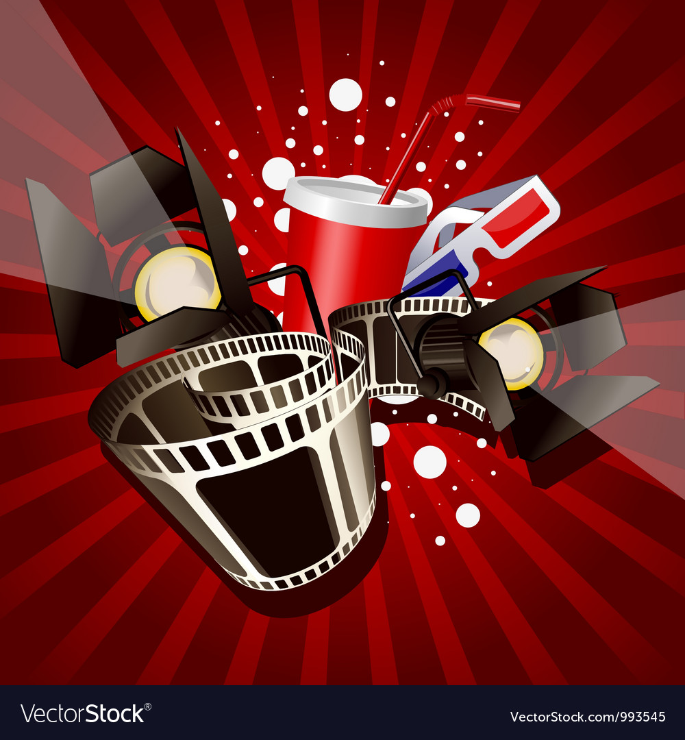 Movie vector | Price: 1 Credit (USD $1)