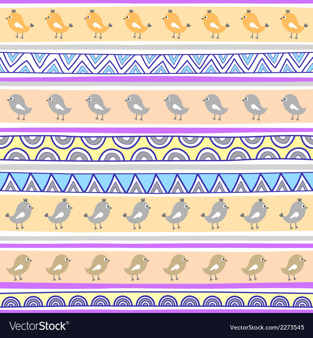 Seamless bird pattern background2 vector | Price: 1 Credit (USD $1)