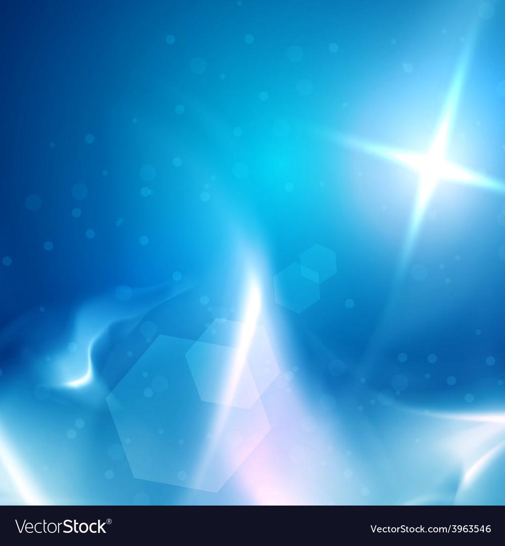 Blue heavens cloudscape vector | Price: 1 Credit (USD $1)