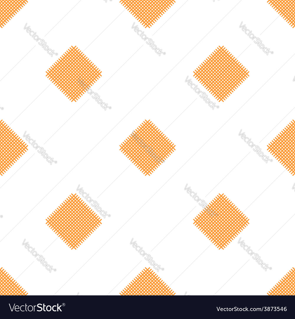 Checkered tablecloths pattern - endless - yellow vector | Price: 1 Credit (USD $1)
