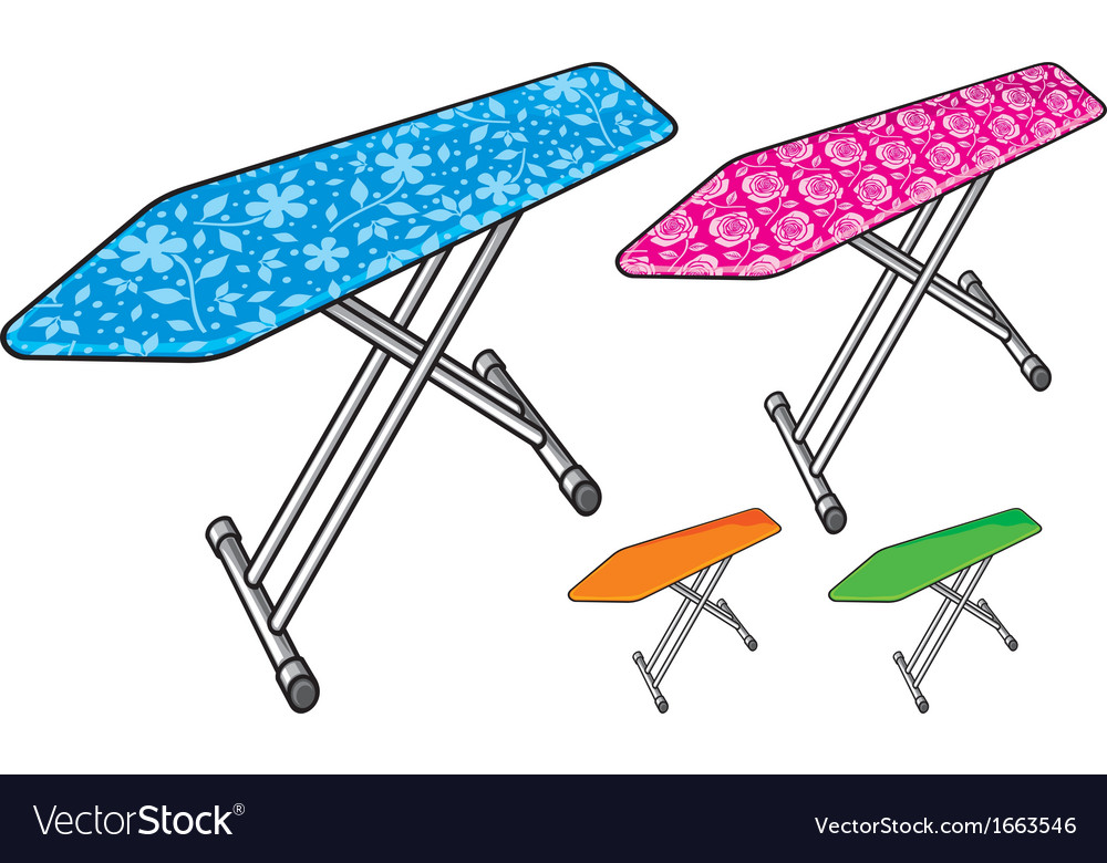 Ironing board vector | Price: 1 Credit (USD $1)