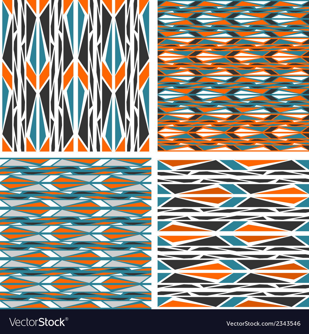 Seamless patterns peafowl vector | Price: 1 Credit (USD $1)