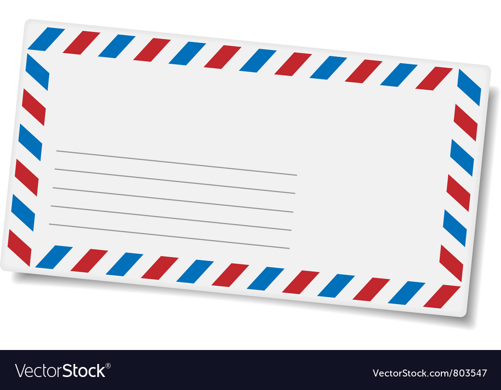 Blank mailing envelope vector | Price: 1 Credit (USD $1)