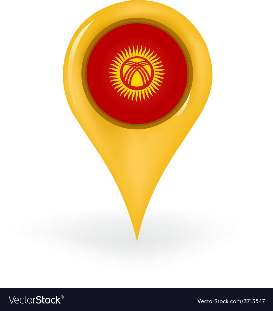 Location kyrgyzstan vector | Price: 1 Credit (USD $1)