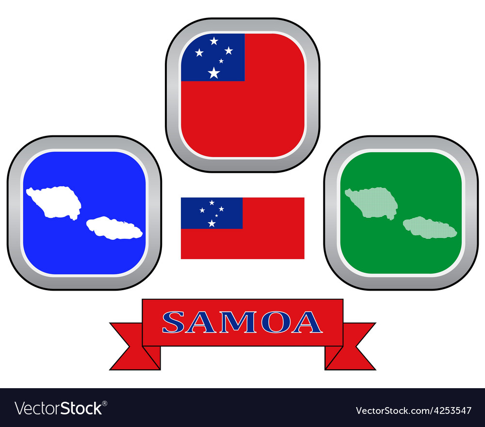 Symbol of samoa vector | Price: 1 Credit (USD $1)