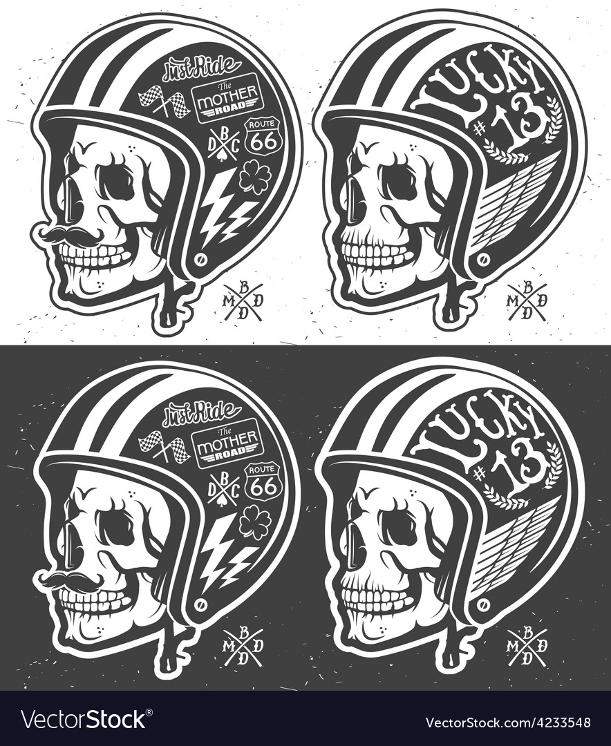 Motorcycle helmet vector | Price: 3 Credit (USD $3)