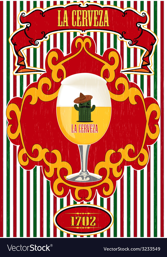 La cerveza vector | Price: 1 Credit (USD $1)