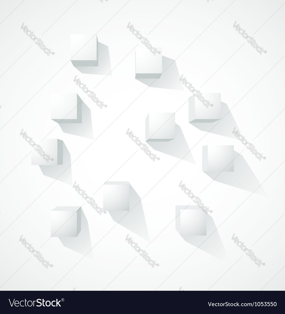 Abstract white background vector | Price: 1 Credit (USD $1)