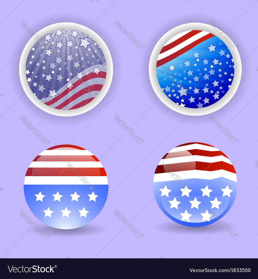 American icon vector | Price: 1 Credit (USD $1)