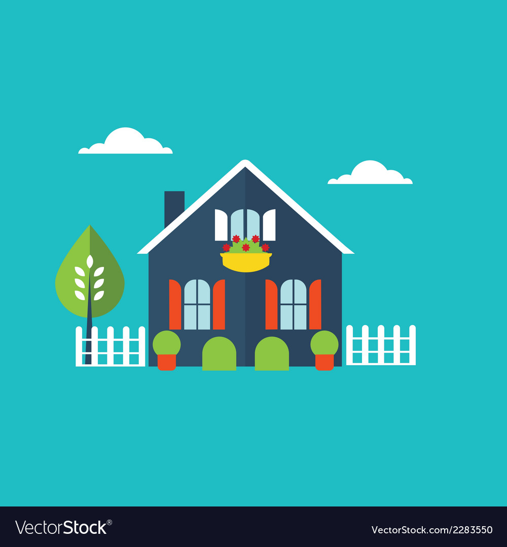 House home vector | Price: 1 Credit (USD $1)
