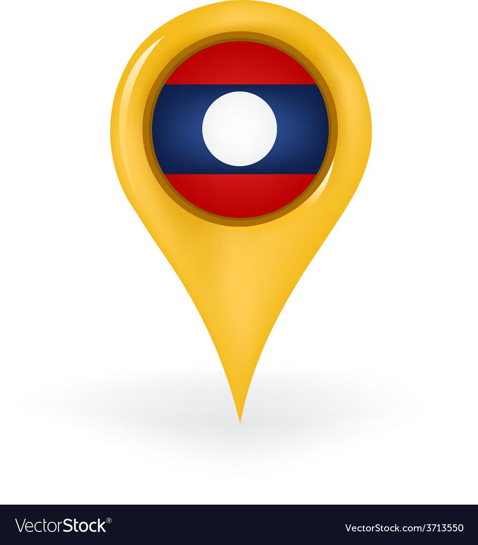 Location laos vector | Price: 1 Credit (USD $1)