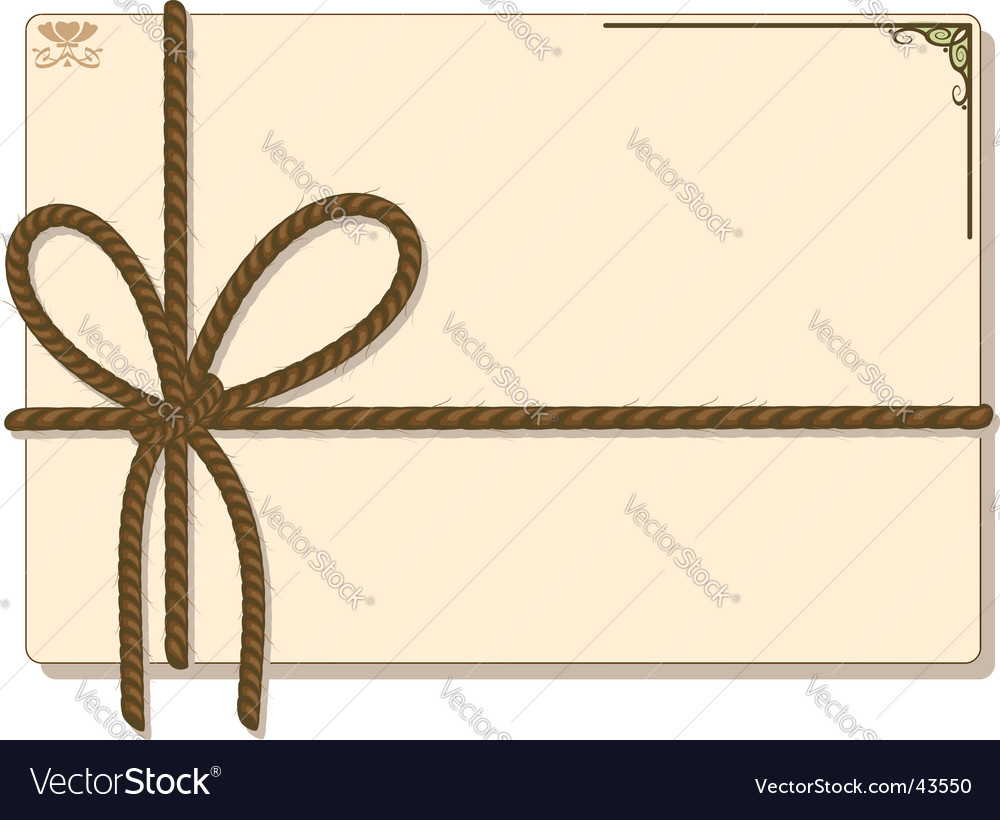 Rope frame vector | Price: 1 Credit (USD $1)