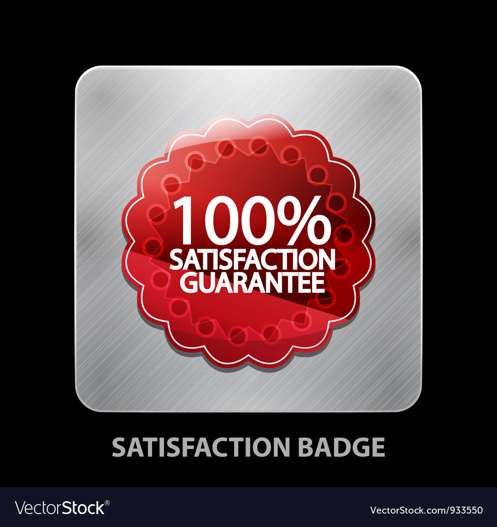 Satisfaction app icon vector | Price: 1 Credit (USD $1)