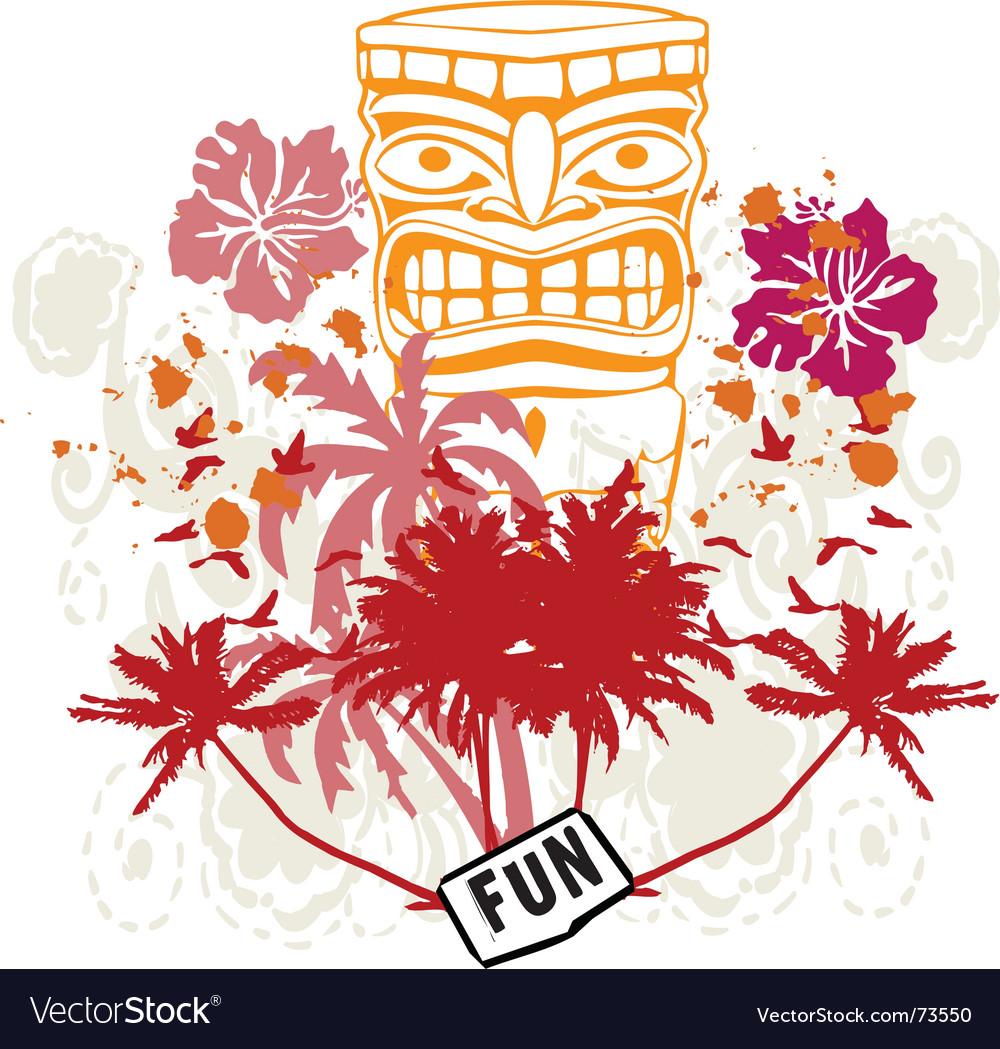 Tribal fun vector | Price: 1 Credit (USD $1)
