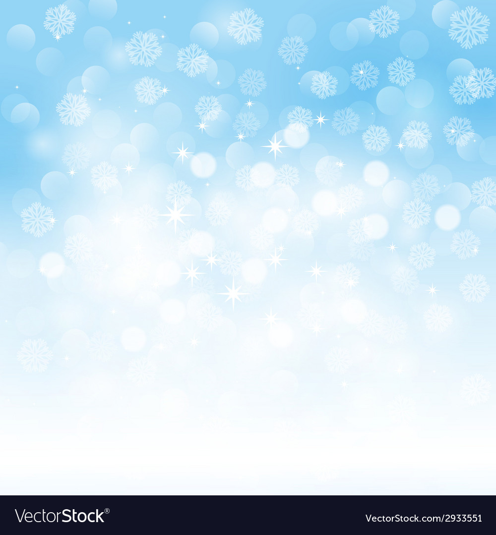 Blue holiday light background vector | Price: 1 Credit (USD $1)
