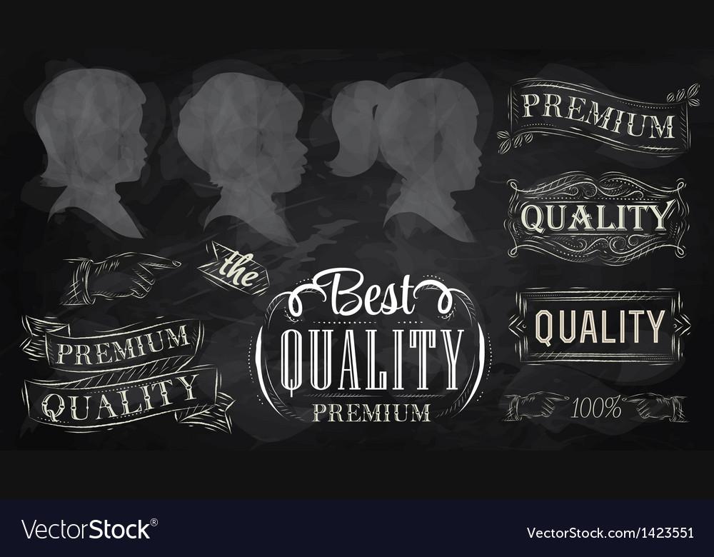 Chalk design elements vector | Price: 3 Credit (USD $3)