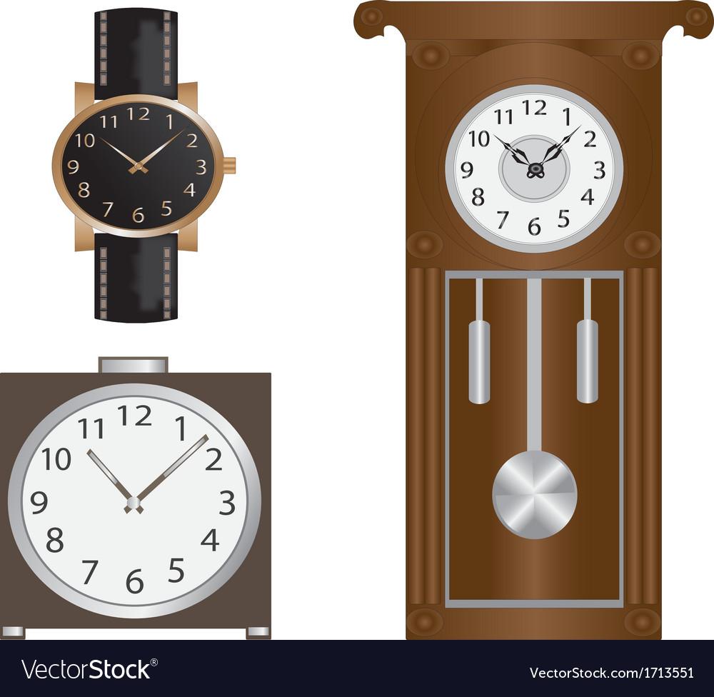 Clocks vector   Price: 1 Credit (USD $1)