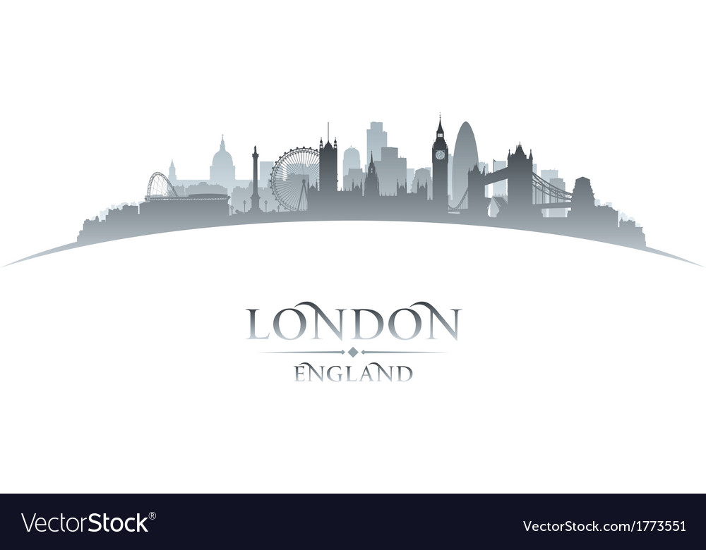 London england city skyline silhouette vector | Price: 1 Credit (USD $1)