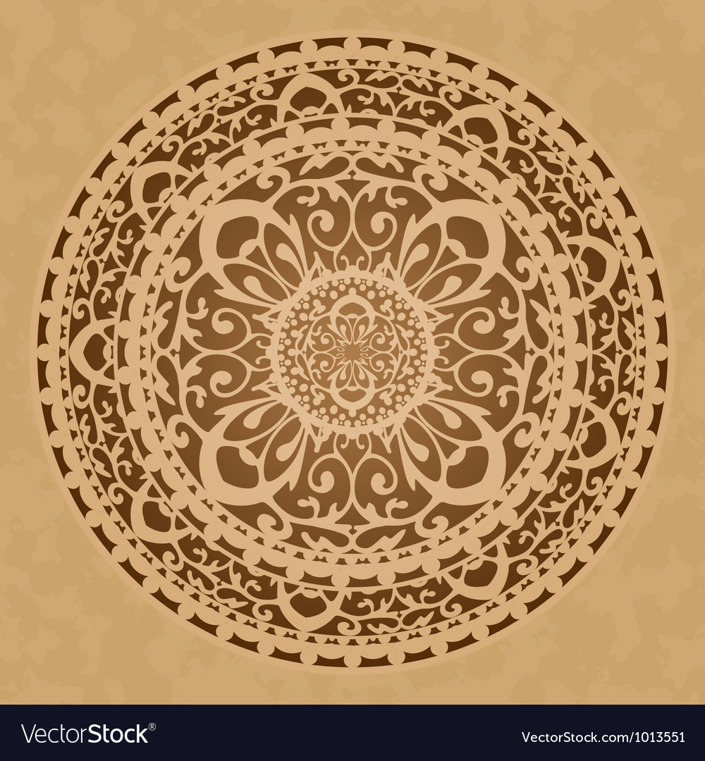 Oriental decoration vector | Price: 1 Credit (USD $1)