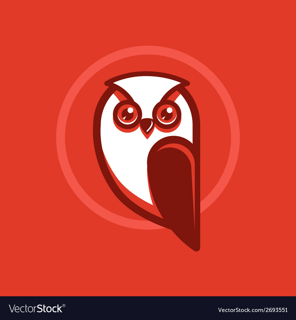 Owl emblem vector   Price: 1 Credit (USD $1)
