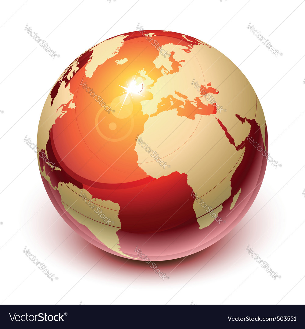 Red earth vector | Price: 1 Credit (USD $1)