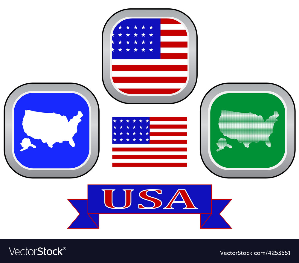Symbol of united states of america vector | Price: 1 Credit (USD $1)