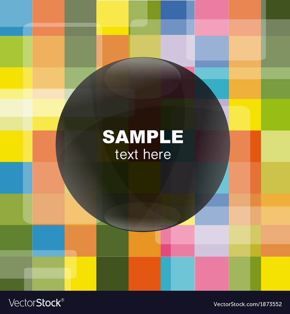 Bright background with speech bubble vector | Price: 1 Credit (USD $1)