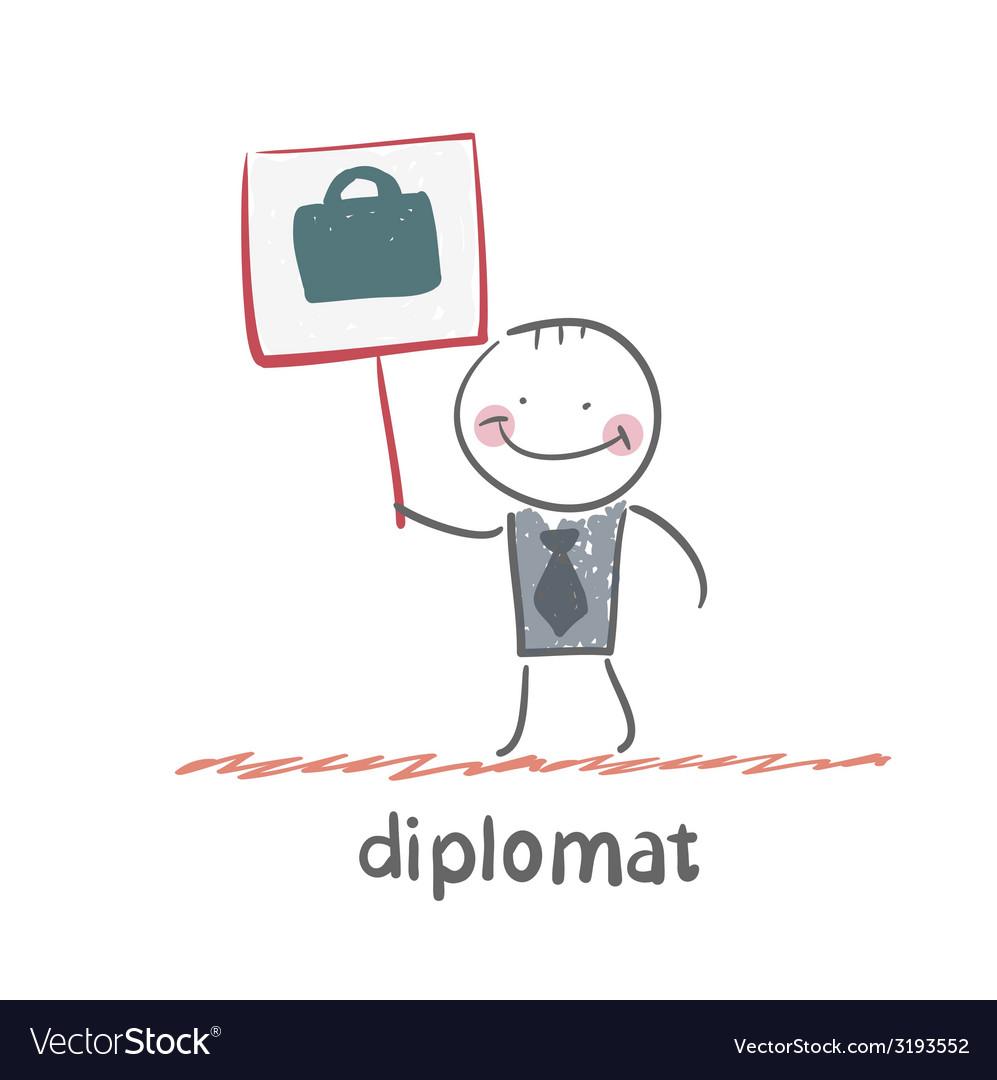 Diplomat vector   Price: 1 Credit (USD $1)