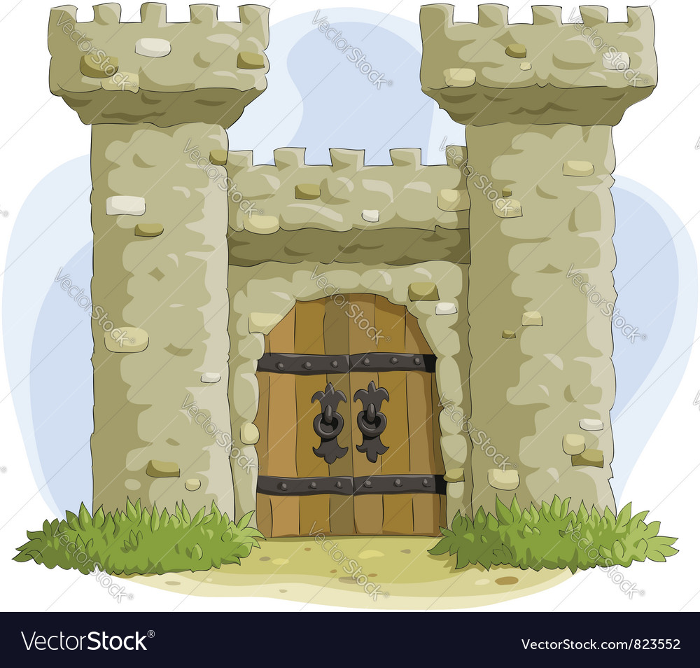 Fortress vector | Price: 3 Credit (USD $3)