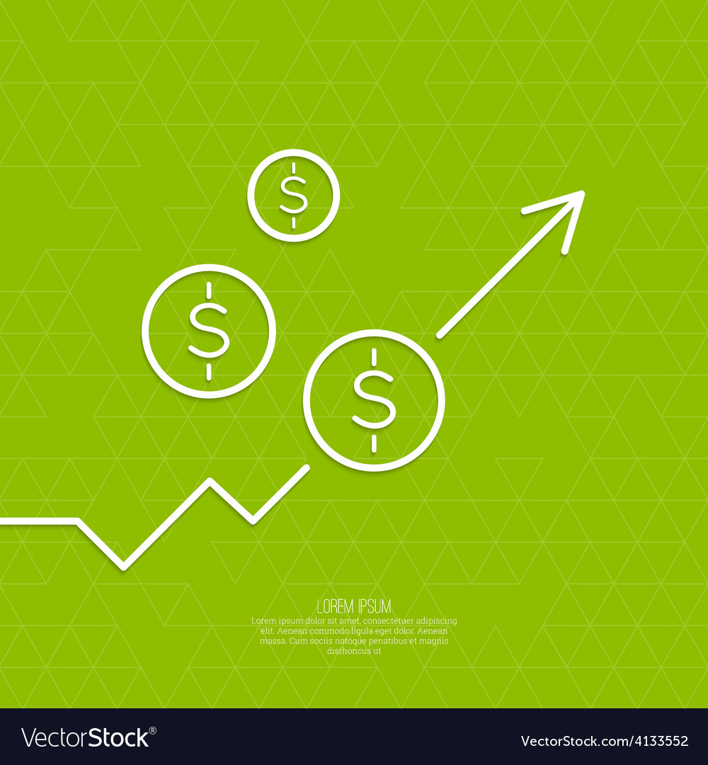 The graph shows the growth and profit vector   Price: 1 Credit (USD $1)