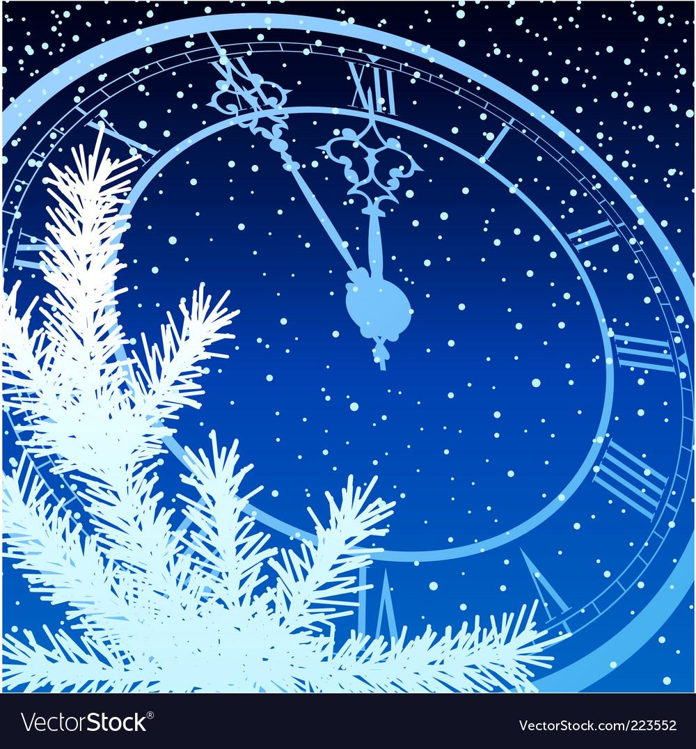 New year clock vector   Price: 3 Credit (USD $3)