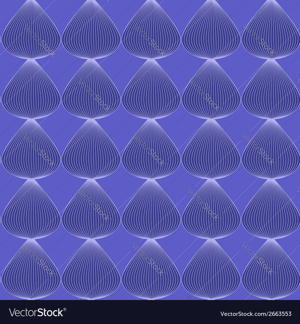 Blue seamless line pattern vector | Price: 1 Credit (USD $1)
